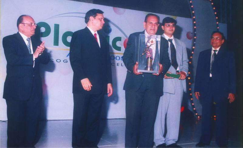 Award receiving picture
