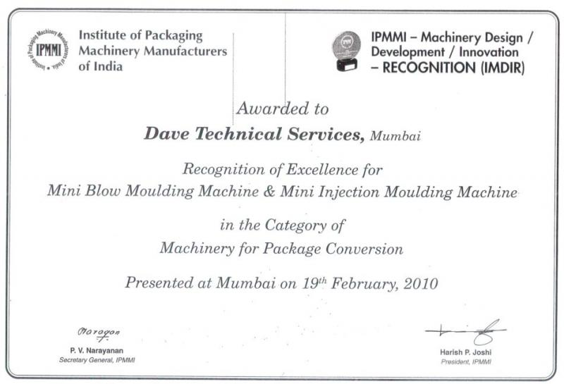 Dave Technical Services Hand Injection Moulding Machine